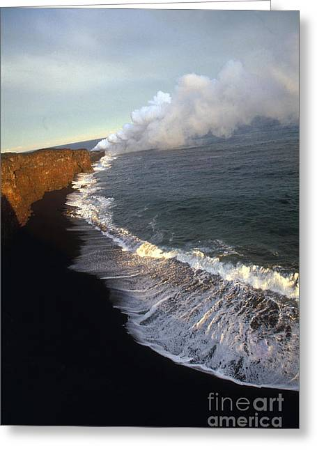 Kilauea Volcano, Hawaii Greeting Card by Stephen & Donna O'Meara