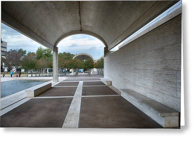 Kimbell Art Museum Fort Worth Greeting Card