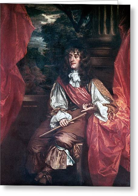 King James II Of England Greeting Card by Granger
