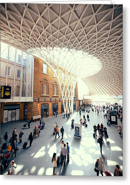 Kings Cross Station London Greeting Card