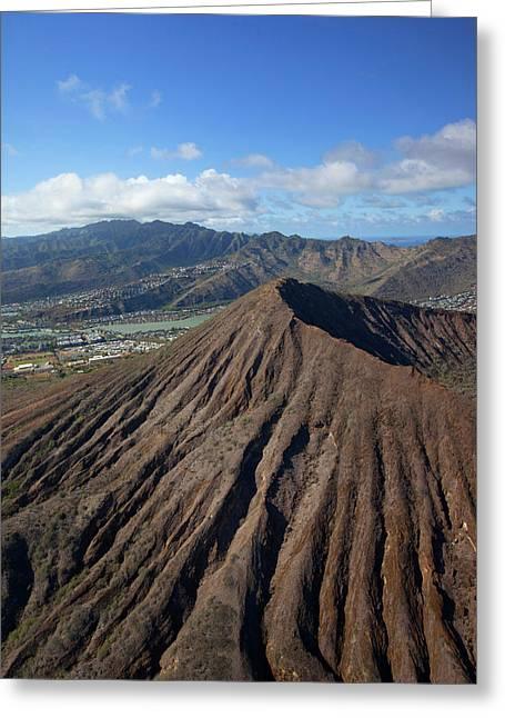 Koko Crater, Hawaii Kai, Oahu, Hawaii Greeting Card