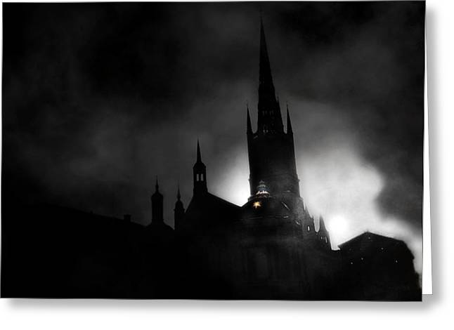 Kyrka Greeting Card by David Fox