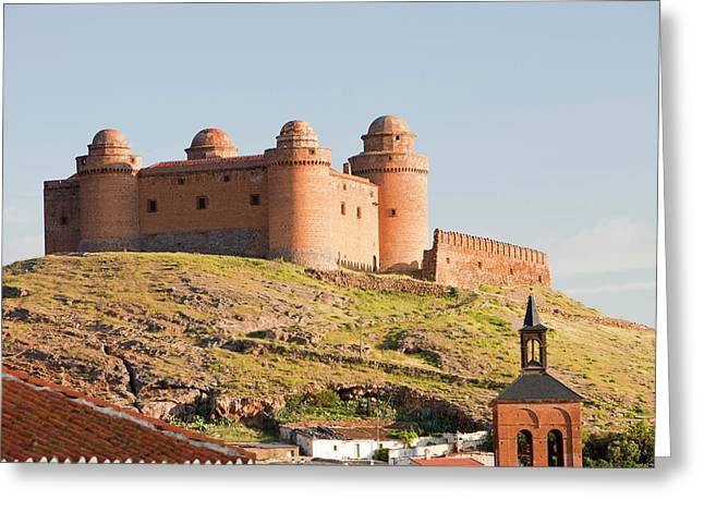 La Calahorra Castle Greeting Card by Ashley Cooper