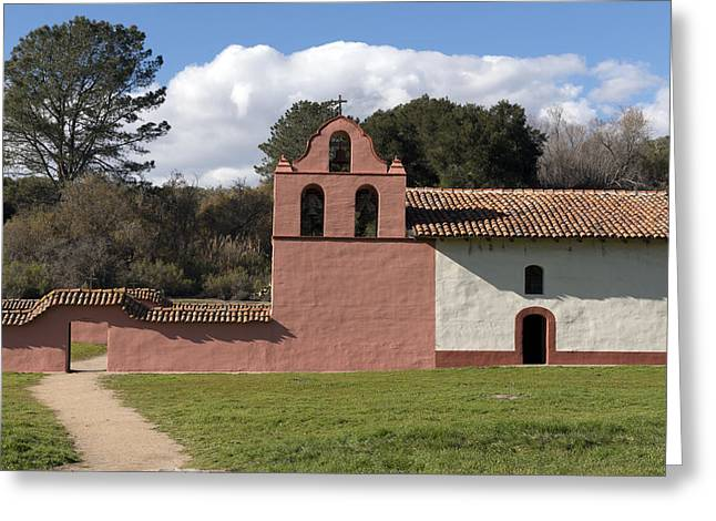 La Purisima Mission In Lompoc Greeting Card