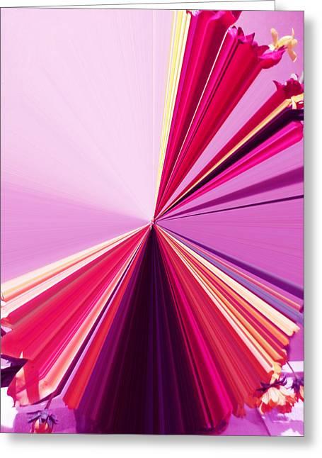La Vie En Rose 18 Greeting Card by Rozita Fogelman