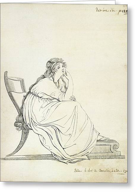 Lady Hamilton Greeting Card