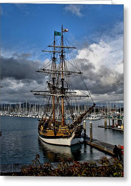 Lady Washington Greeting Card by Michael Gordon