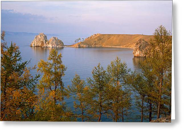 Lake Baikal Siberia Russia Greeting Card by Panoramic Images