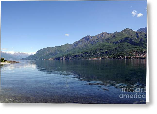 Lake Como - Italy Greeting Card