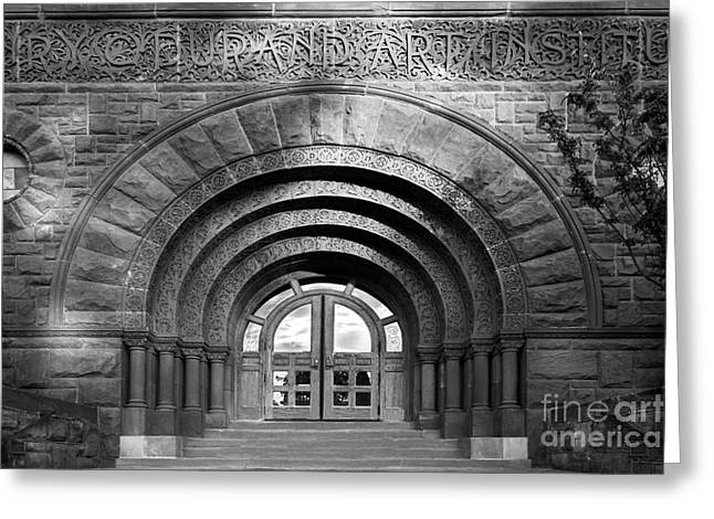 Lake Forest College Durand Art Institute Greeting Card by University Icons