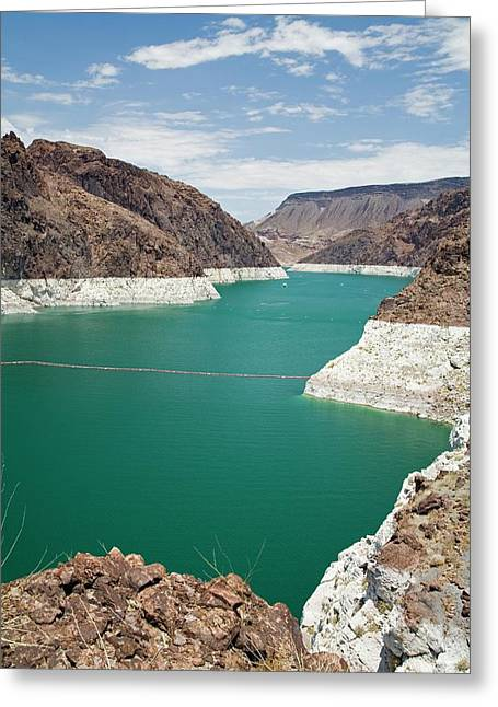 Lake Mead Reservoir Greeting Card by Jim West