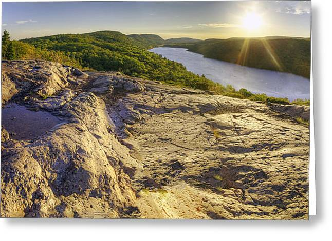 Lake Of The Clouds Greeting Card by Twenty Two North Photography