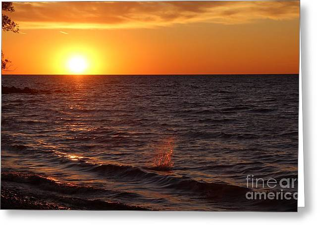 Lake Ontario Sunset Greeting Card