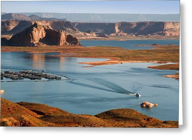 Lake Powell Utah Greeting Card