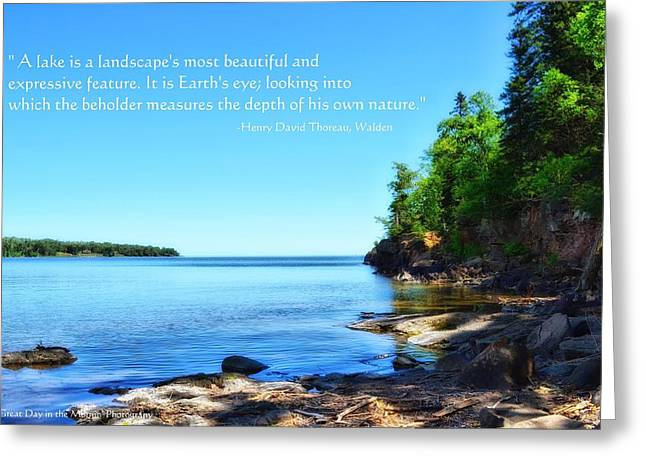 Lake Superior Greeting Card by Michelle and John Ressler