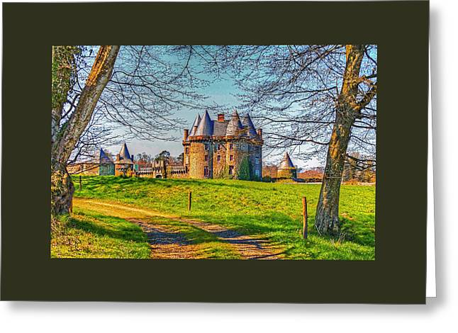 Greeting Card featuring the photograph Chateau De Landale by Elf Evans