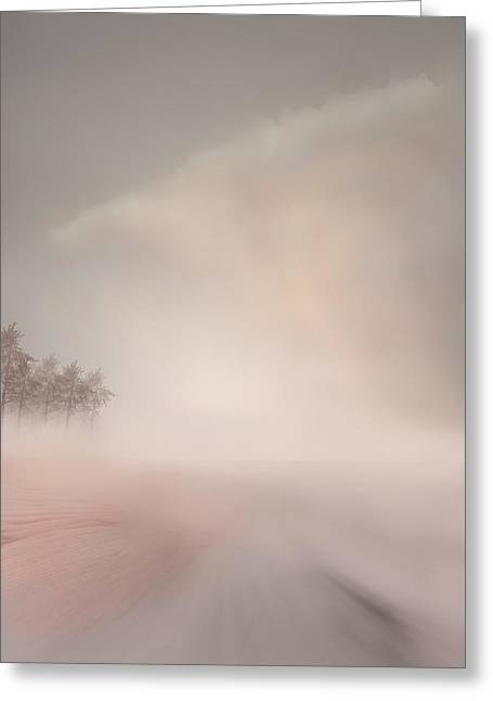 Landscape Greeting Card by Ljubinka Lepojevic