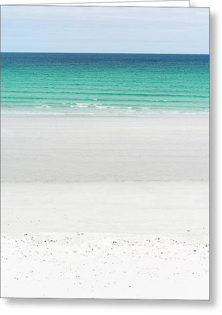 Landscape On The Island Of North Uist Greeting Card
