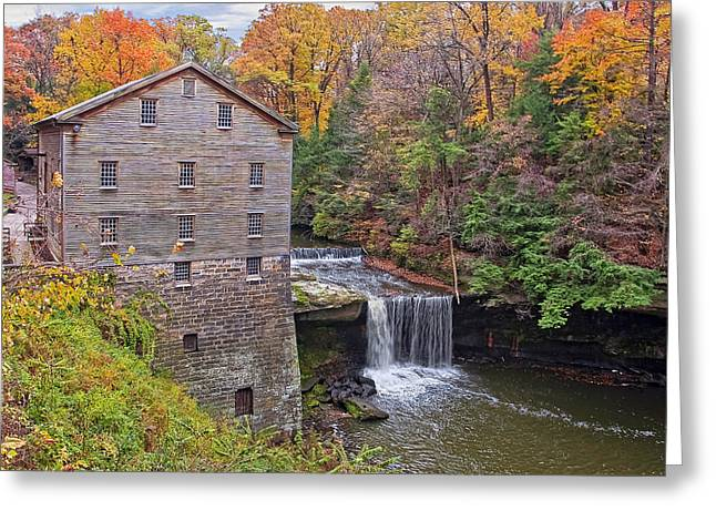Lantermans Mill Greeting Card by Marcia Colelli