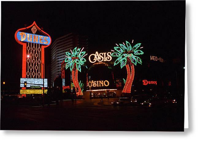 Las Vegas 1983 #2 Greeting Card