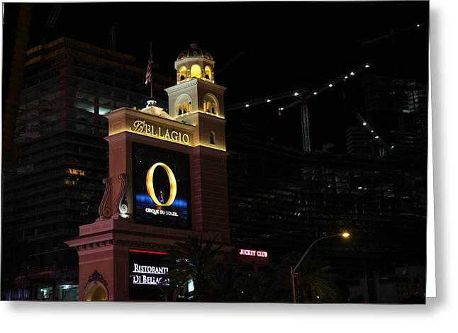 Las Vegas - Bellagio Casino - 12121 Greeting Card by DC Photographer