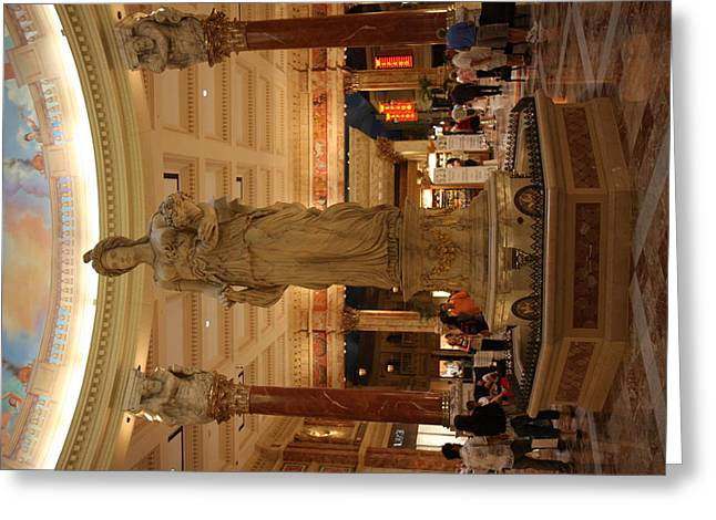 Las Vegas - Caesars Palace - 12121 Greeting Card by DC Photographer