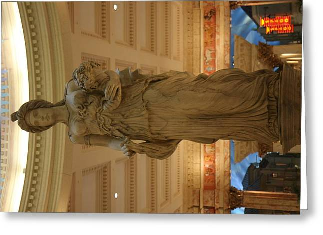 Las Vegas - Caesars Palace - 121210 Greeting Card