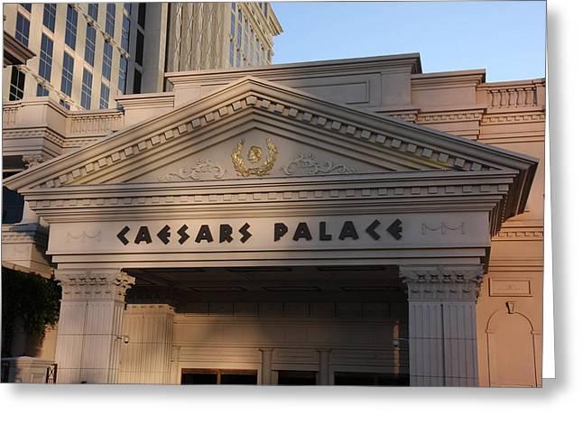 Las Vegas - Caesars Palace - 12125 Greeting Card