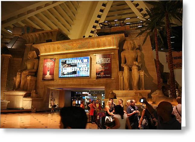 Las Vegas - Luxor Casino - 12121 Greeting Card