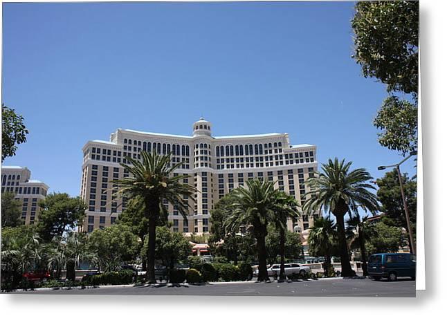 Las Vegas - Monte Carlo Casino - 12121 Greeting Card by DC Photographer