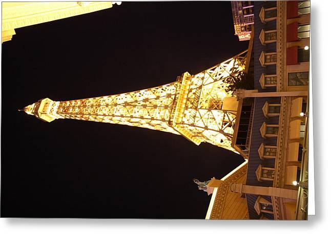 Las Vegas - Paris Casino - 121214 Greeting Card