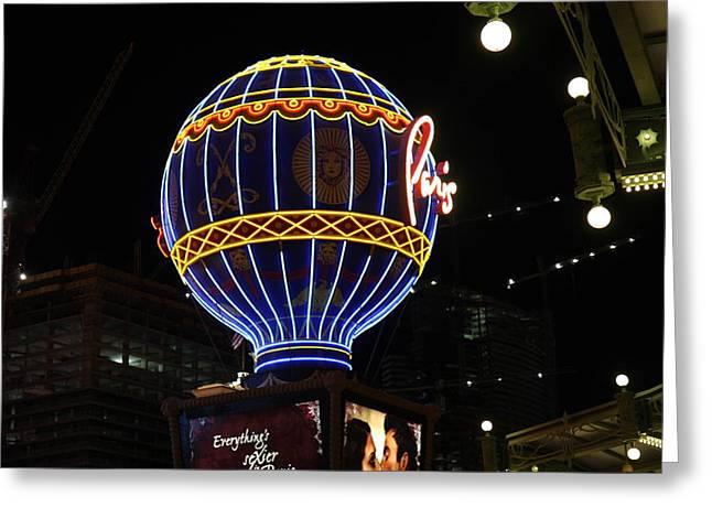 Las Vegas - Paris Casino - 12129 Greeting Card