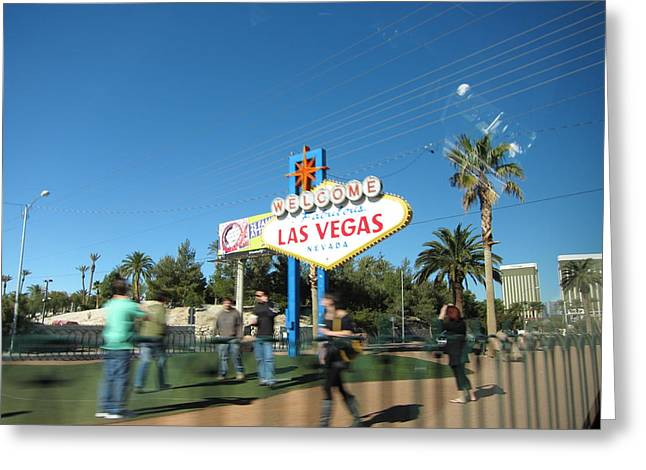 Las Vegas - The Srip - 12122 Greeting Card by DC Photographer