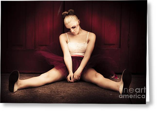 Last Dance Greeting Card by Jorgo Photography - Wall Art Gallery