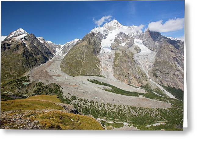 Lateral Moraine Greeting Card