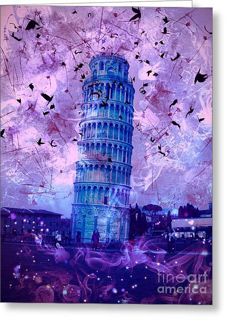 Leaning Tower Of Pisa 2 Greeting Card