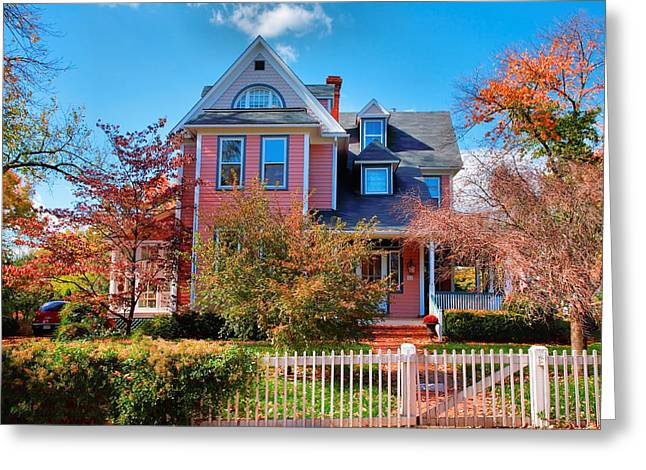 Leesburg House I Greeting Card by Steven Ainsworth