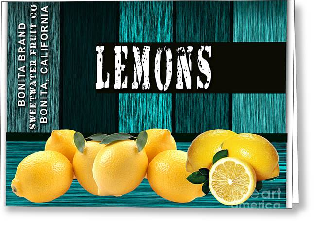 Lemon Farm Greeting Card by Marvin Blaine