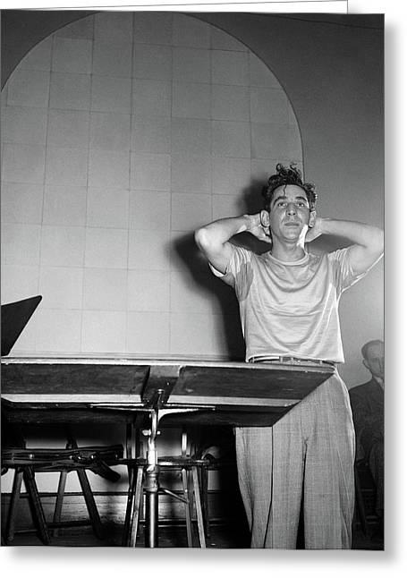 Leonard Bernstein(1918-1990) Greeting Card