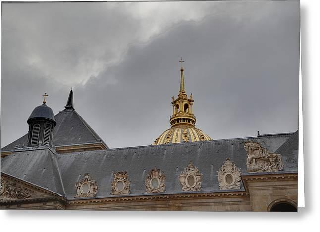 Les Invalides - Paris France - 011311 Greeting Card