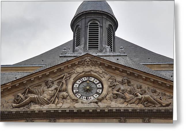 Les Invalides - Paris France - 011315 Greeting Card