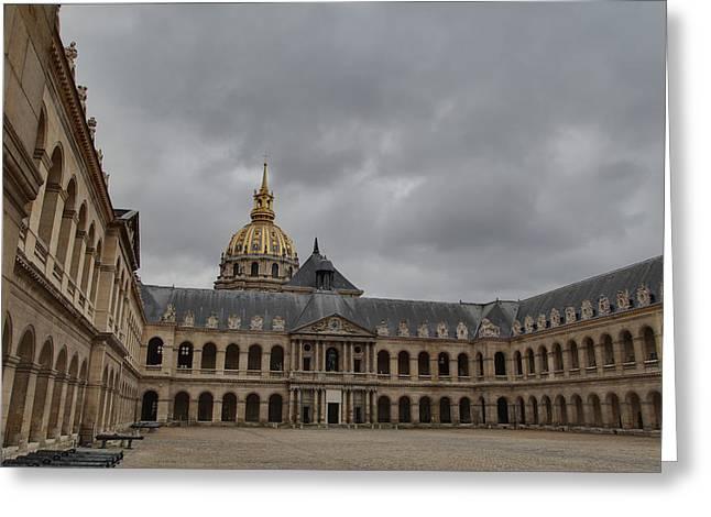 Les Invalides - Paris France - 011318 Greeting Card