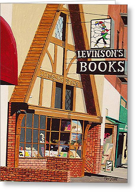 Levinson's Greeting Card by Paul Guyer