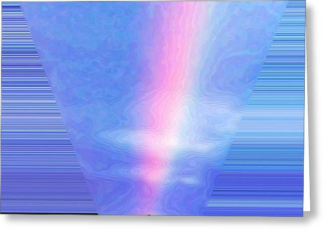 Light Beam Greeting Card