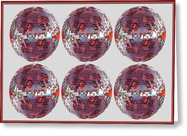 Light Globes Interior Decorations Entertainment Hotels Resorts Casino Bar Las Vegas America Usa Greeting Card by Navin Joshi