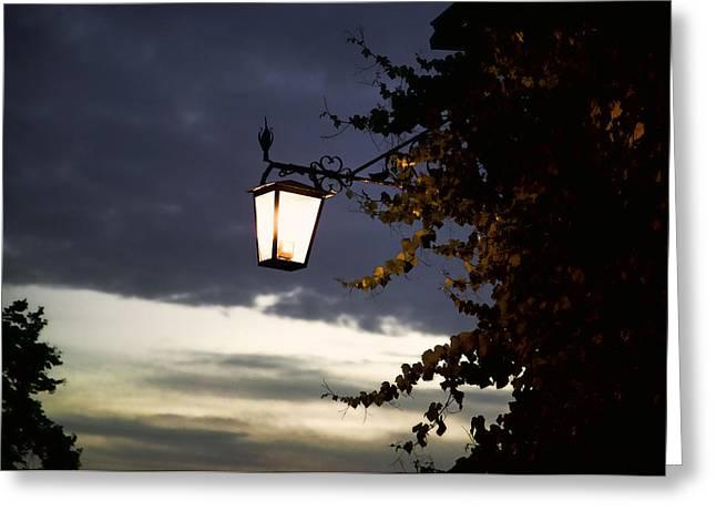 Light Greeting Card by Joanna Madloch