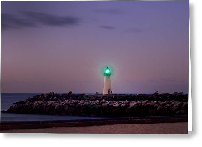 Lighthouse Santa Cruz Greeting Card