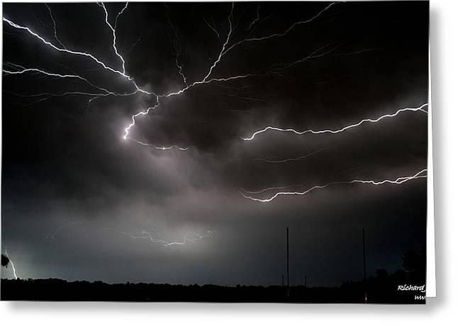 Lightning 2 Greeting Card