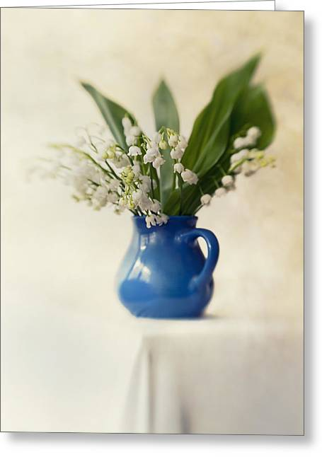 Lilly Of The Valley Greeting Card by Jaroslaw Blaminsky