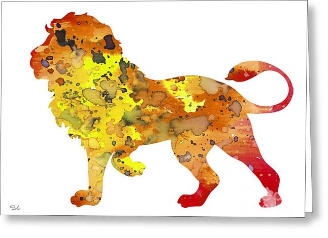 Lion 2 Greeting Card